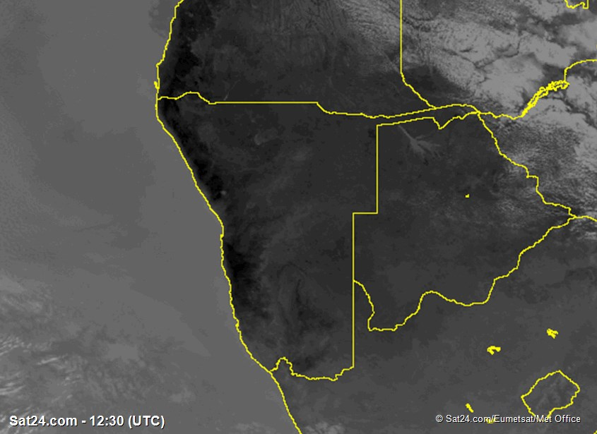 satellite Image Namibia