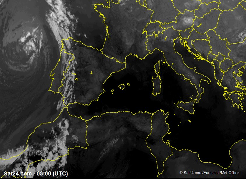 Satellite Image Spain